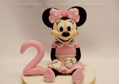 A personal favorite from my Etsy shop https://www.etsy.com/listing/456582188/minnie-mouse-cake-topper