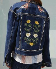 cfe8cf5d7e6fd Denim heads west for Spring. Find intricate embroidery and stud detailing  in the new collection.