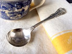 Gorham Silver Soup Spoon Hotel Texas Fort Worth by veraviola, $20.00