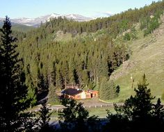 south fork mountain lodge big horn mountains wy