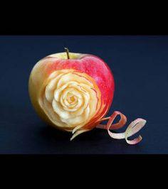 sculpture sur fruit, la beauté de la nature exaltée