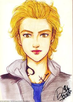 Jace Herondale/Lightwood, I dont know which one to say for his last name sp I'll say both♀️