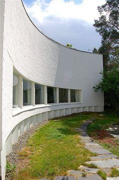 Alvar Aalto Studio in Tiilimäki, Munkkiniemi, Helsinki | Explore pete… | Flickr