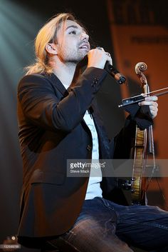 David Garrett performs at Best Buy Theater on February 18, 2011 in New York City.