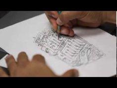 OGABEL sketch to digital timelapse