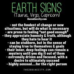 REPOST - Zodiac Signs: Earth Signs - Taurus, Virgo, Capricorn.  My fiancé.