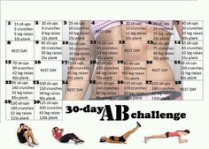 The 30 Day Abs Challenge - Hot Or Not A brand-new health and fitness difficulty has actually just recently swept via social media. It is called the 30 day AB challenge and it lays out a Thirty Days Abdo Challenge, 30 Day Squat Challenge, Challenge Accepted, Crunch Challenge, Monthly Challenge, Challenge Ideas, Belly Challenge, December Challenge, Health Challenge