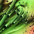 Crystallized mixture of resorcinal, methylene blue, and sulphur | John Hart | Nikon's Small World