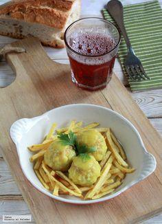 Hoy vamos a preparar una receta de albóndigas de sepia, una deliciosa receta característica de Huelva, donde las albóndigas de choco son uno de ...