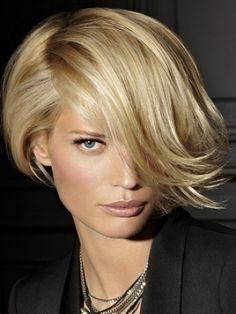 short #blonde #hair