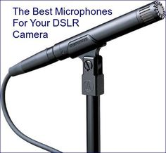 The Best Microphone For The Job In DSLR Audio ... see more at InventorSpot.com