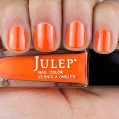 Marjorie - citrus orange frost.  Get your first box free!  ($45 value) http://www.julep.com/rewardsref/index/refer/id/313807/