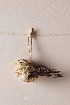 Kakai Bird Ornament - anthropologie.com