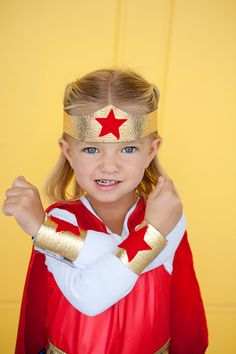 The way I ran around the house half the time! Only my crown was foil and bracelets duct tape.