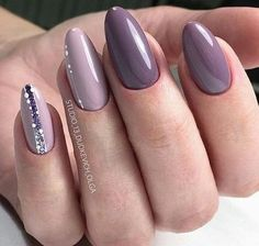 and Beautiful Nail Art Designs Elegant Nails, Classy Nails, Stylish Nails, Cute Nails, Hair And Nails, My Nails, Nagellack Trends, Manicure Y Pedicure, Pedicure Ideas