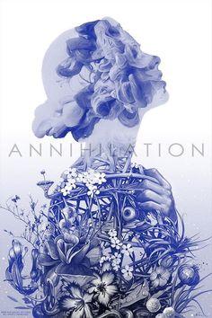 Annihilation by Greg Ruth Variant Mondo Print Movie Poster Art, New Poster, Film Posters, Annihilation Movie, Alex Garland, Keys Art, Alternative Movie Posters, Beautiful Posters, Design Graphique