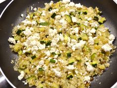Diet Recipes, Snack Recipes, Healthy Recipes, Vegetarian Recepies, Fried Rice, Feta, Food And Drink, Low Carb, Cooking