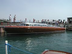 """""""Thunderbird""""  The largest and undoubtedly the most elegant of all gasoline powered, mahogany hulled """"woodies"""" to grace the waters of Lake Tahoe is the Thunderbird. Designed for real estate tycoon """"Captain"""" George Whittell, Jr., by naval architect John Hacker in Michigan, this 55' marine masterpiece was built by Huskin Boat Works in Detroit."""