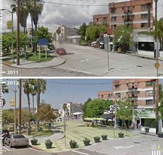 Galeria de Antes/Depois: 30 fotos que mostram que é possível projetar para os pedestres - 28