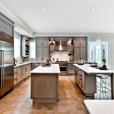 The Nottingham - traditional - kitchen - montreal - Tendances Concept