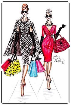 'Shopping in Style' by Hayden Williams Yes! This is how to stylishly dress when you go wardrobe shopping.
