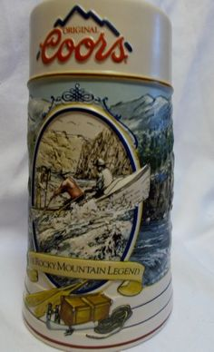 Vintage 1992 Coors Beer Stein Collector Ceramarte Rocky Mountain Legend Coors http://www.amazon.com/dp/B00E5NHYI4/ref=cm_sw_r_pi_dp_3RwNvb0MWEVSX