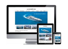 Super yacht website available for sale - contact info@nylon-marketing.com