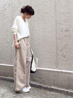 ari☆さんの「≪予約≫chinoワイドパンツ 追加◆(FRAMeWORK)」を使ったコーディネート