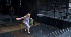 This Grandma Went Running In The Rain! I Was Moved When I Found Out Why.