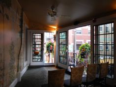 Ceremony Room at the #Wedding of Sarah & William, Mamma Maria's, North End, Boston, MA