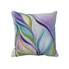 Organic Naturalism purple Throw Pillows by VaughtGallery