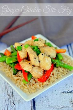 Ginger Chicken Stir