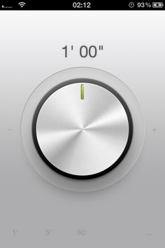 Tactile minimalist Timer