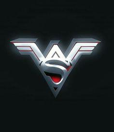 Wonder Woman and Superman mashup logo by Wonder Woman Art, Superman Wonder Woman, Wonder Woman Logo, Wonder Women, Gothic Disney Princesses, Superman Tattoos, Custom Window Decals, Geek Gear, Dc Comics
