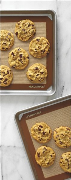 Skip parchment paper and greasy sprays, opting instead for a reusable non-stick silicone mat.