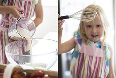 Pohankové palačinky s jahodovou omáčkou Jamie Oliver, Cotton Candy, Quinoa, Floss Sugar