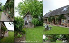 """""""l' ARMOIRE DE CAMILLE"""" (Là !) en pleine campagne, à coté de ORBEC plus exactement à MEULLES (14290) petit village Normand lieu dit ...le Boissard..... (là)"""