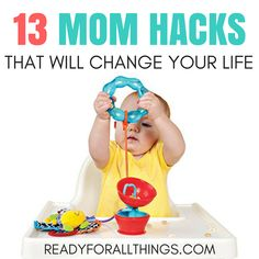 Wow! Parenting has become so much easier since I discovered these mom hacks! If you stay at home with kids, these tips and ideas will save your sanity.