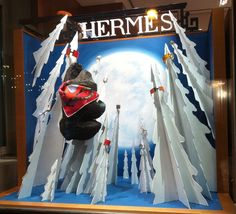 """HERMES,Moscow,Russia, """"Every mountain top is within reach if you just keep climbing"""", pinned by Ton van der Veer"""