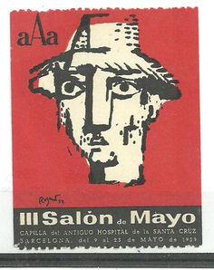 Image result for barcelona poster stamp.