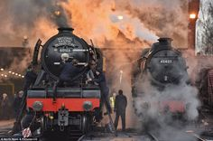 Flying Scotsman returns to the tracks for the first time in a decade