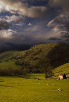 Stormy Sky In England