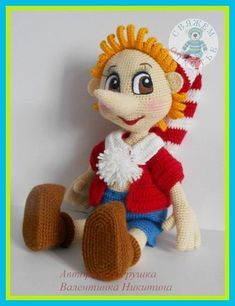 The post Pinocchio……. appeared first on Paris Disneyland Pictures. Crochet Doll Pattern, Easy Crochet Patterns, Crochet Patterns Amigurumi, Amigurumi Doll, Knitting Patterns, Yarn Dolls, Knitted Dolls, Crochet Dolls, Crochet African Flowers