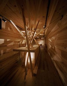Japanese design studio based in Osaka, Shegemasa Noi has created the interior of the bar Shimuraya Tokyo.