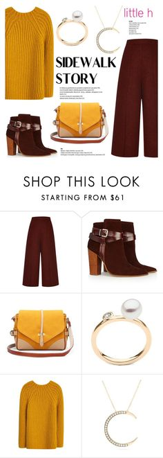 """""""Sidewalk story by Little h Jewelry"""" by littlehjewelry ❤ liked on Polyvore featuring Proenza Schouler, Warehouse and MANGO"""