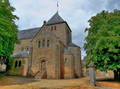 L'église de Mézangers, Pays de Loire, Mayenne, France by Dunkerque Photography,