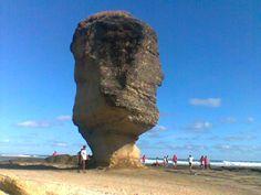 batu payung, Lombok tengah, Indonesia.   umbrella stone hahah