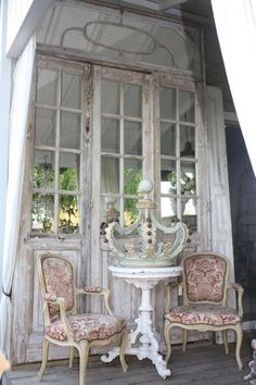 victorian inspired chairs..............................................................................
