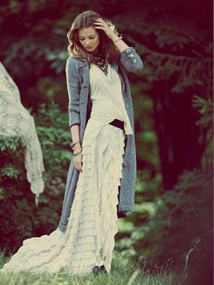 Free People FP X Lydia Maxi Skirt http://www.freepeople.co.uk/by-the-light-of-the-moon/fp-x-lydia-maxi-skirt/