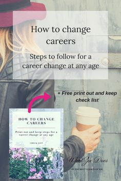 How to change your career, career, change, advice, tips, entrepreneur, girl boss, self employed, how to, check list, goals, goal planner, mid life crisis